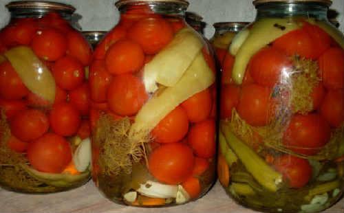 Konservirovanie pomidorov na zimu ochen' vkusnye3