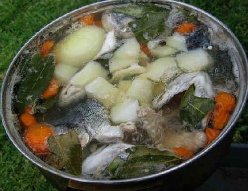 Пошаговый рецепт приготовления ухи из карася
