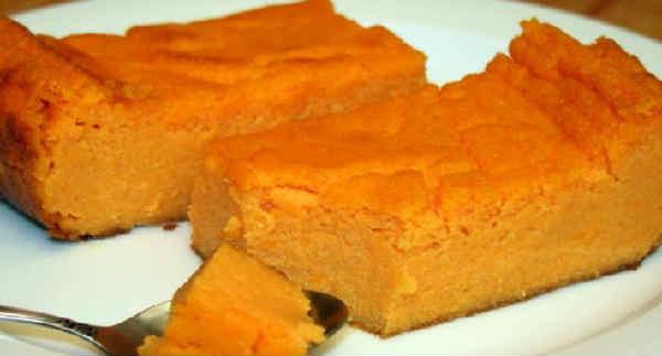 Морковное суфле рецепт
