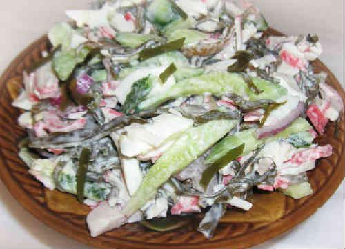 Salat s morskoj kapustoj i jajcom recept3