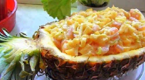 Salaty s krabovymi palochkami vkusnye novye prostye9