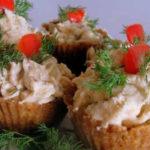 Печень трески в тарталетках рецепты