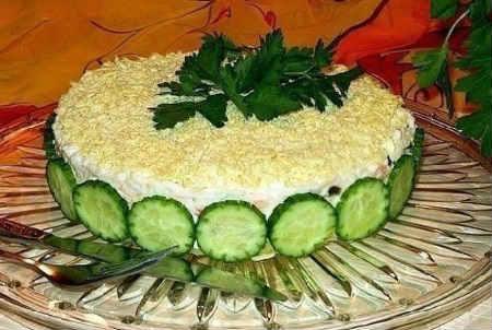 Salat iz pecheni treski konservirovannoj6
