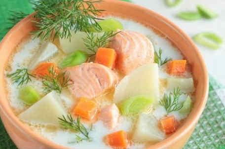 Sup iz lososya recept