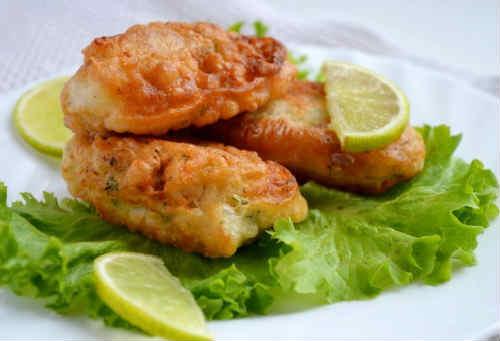 Как пожарить в кляре рыбу: рецепт с фото