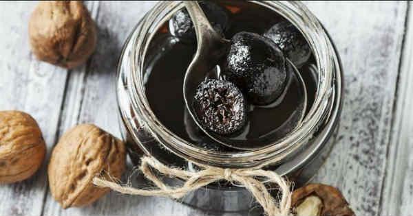 Варенье из грецких орехов польза