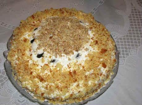 Tort s chernoslivom i greckim orekhom recept1
