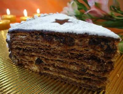 Tort s chernoslivom i greckim orekhom recept2