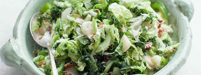 Salat s granatom i greckim orekhom1