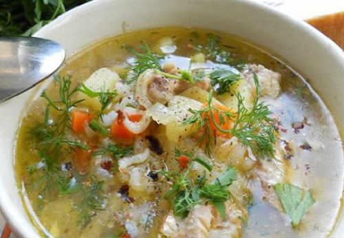 Sup iz konservirovannoj gorbushi4