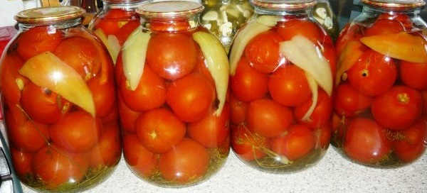 Pomidory na zimu s limonnoj kislotoj1