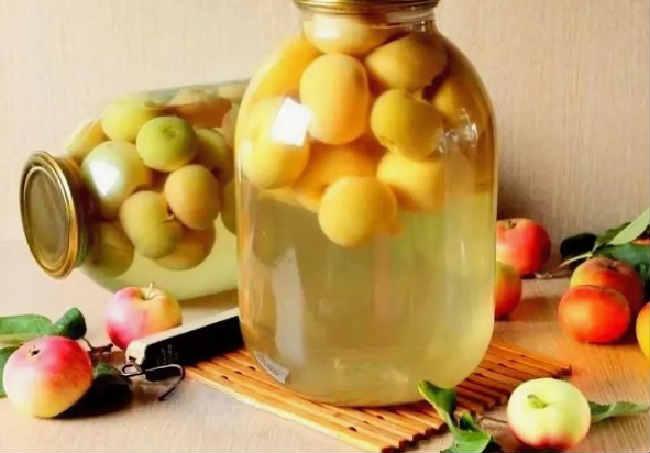 Компот из свежих яблок на зиму