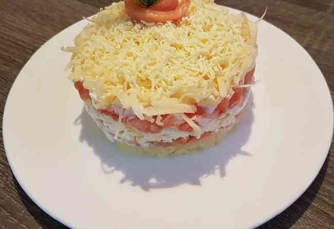 Salat s semgoj slabosolenoj39