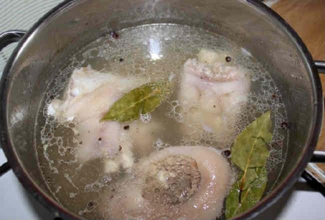 Holodec iz svinyh nozhek vkusnye recepty4