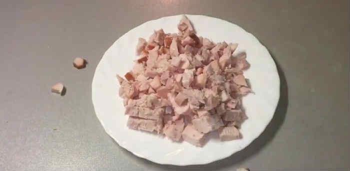 Kak prigotovit' salat Granatovyj braslet15