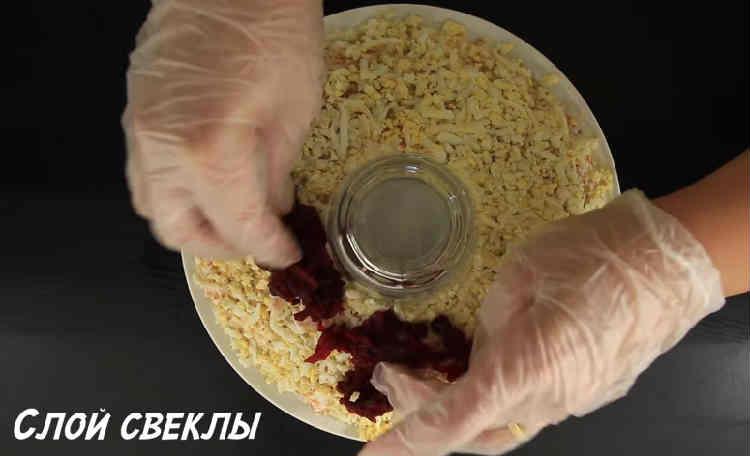 Kak prigotovit' salat Granatovyj braslet5