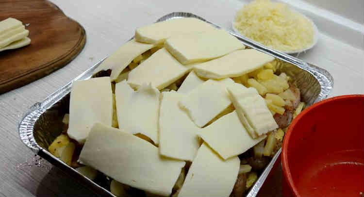 Kurica s ananasami v duhovke13