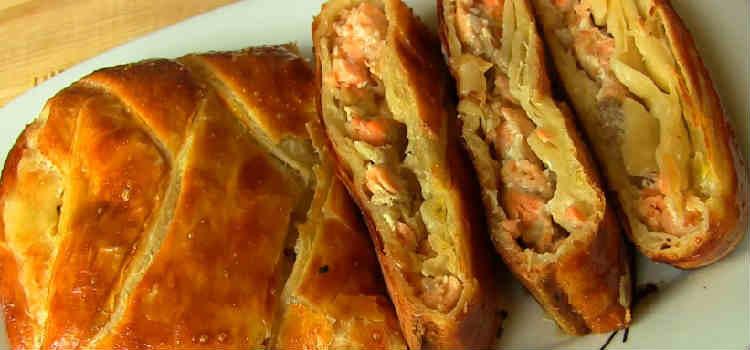 Начинка из соленой рыбы для пирога