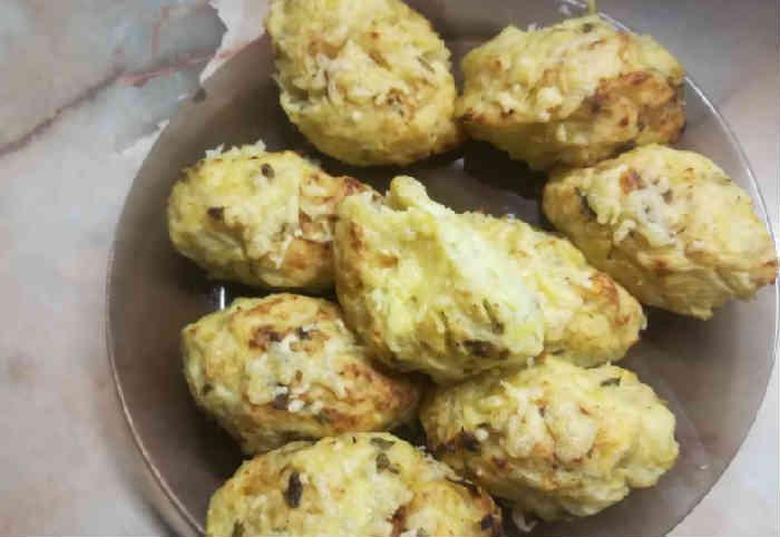 Рецепт овощных котлет в духовке с сыром, капустой и картошкой