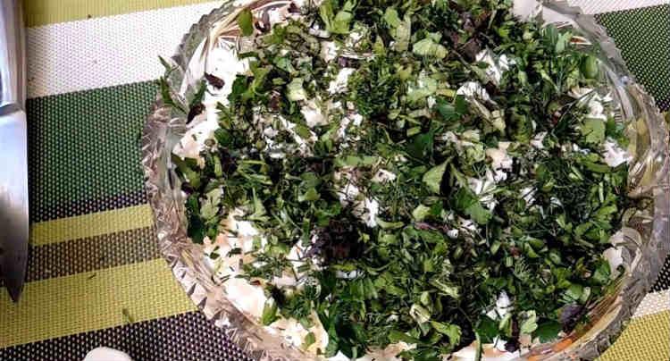 Salat Myshka na novyj god18