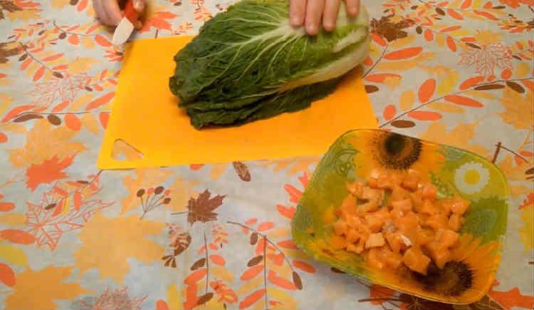 Salat Cezar' s semgoj
