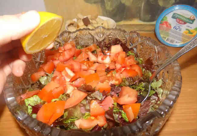 Salat Cezar' s semgoj18