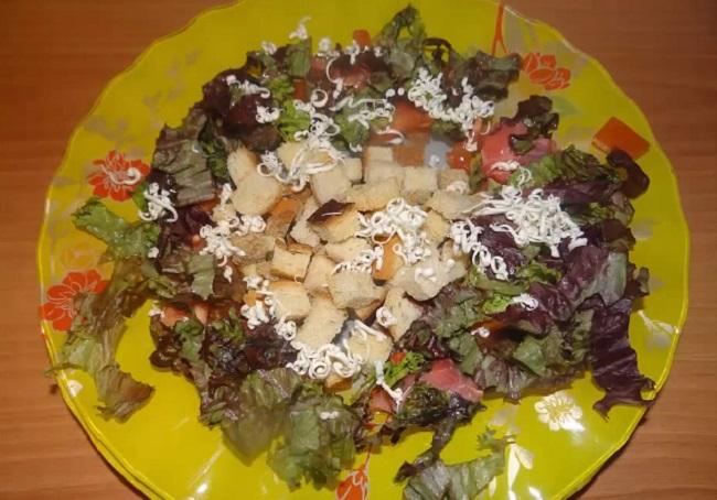 Salat Cezar' s semgoj21
