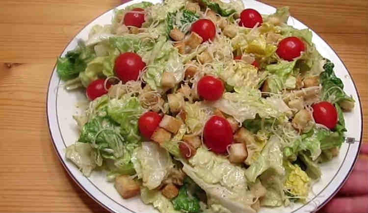 Salat Cezar' s semgoj23