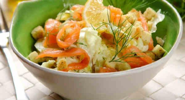 Salat Cezar' s semgoj4
