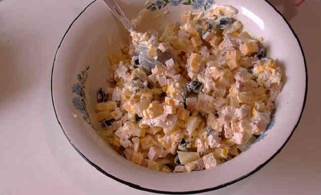 Salat Damskij kapriz22