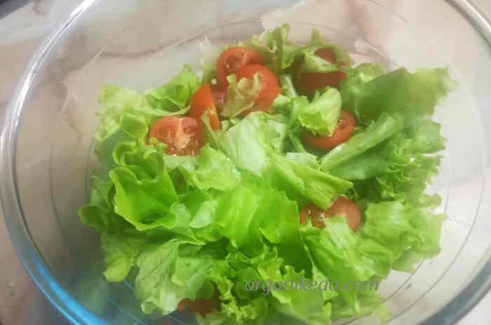 Salat Cezar' s kuricej2