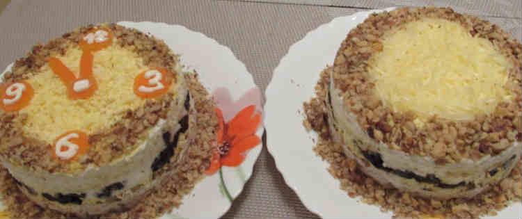 Salat Nezhnost' s kuricej i chernoslivom10