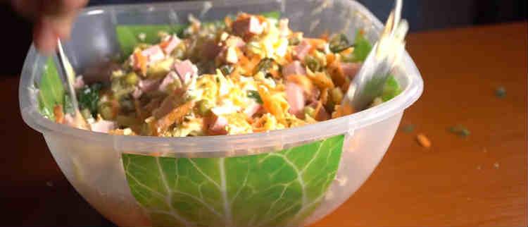 Salat Praga recepty31