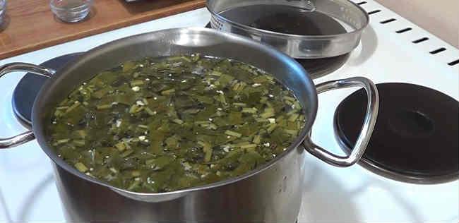Klassicheskij recept shchavelevogo supa s yajcom i kuricej7