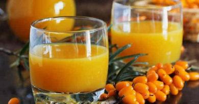 Приготовление облепихового сока на зиму в домашних условиях