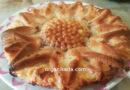 Пышная шарлотка со сметаной и яблоками в духовке