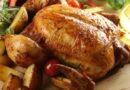 Картошка с курицей в духовке — 10 рецептов