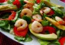 Салаты с креветками — простые и вкусные рецепты