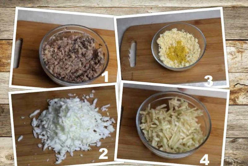 Salat Mimoza s rybnymi konservami15-00