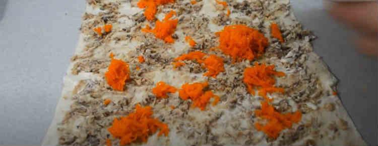 Salat Mimoza s rybnymi konservami15-1