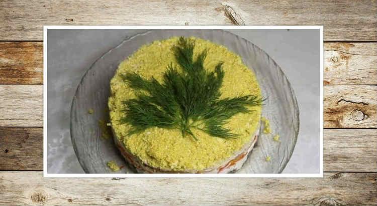 Salat Mimoza s rybnymi konservami15-7