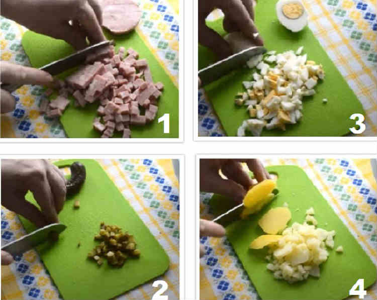 Salat s goroshkom konservirovannym i yajcom16-1