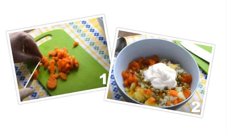 Salat s goroshkom konservirovannym i yajcom16-2