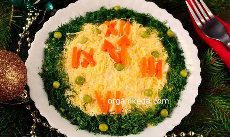 Salat Novogodnie chasy9