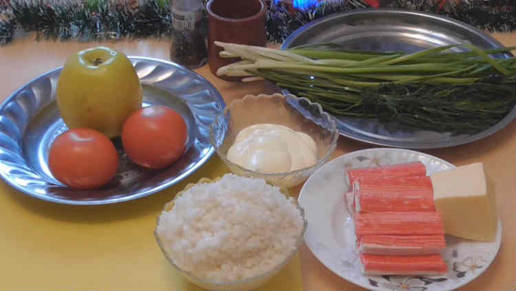 Salat Novogodnij venok4