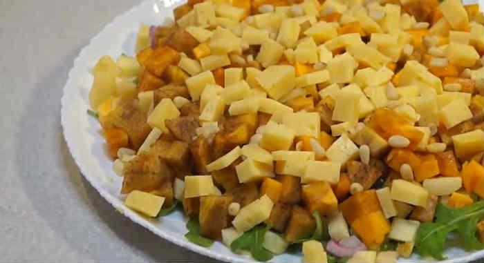 Salat s hurmoj10