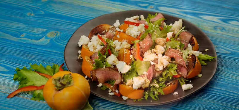 Salat s hurmoj12