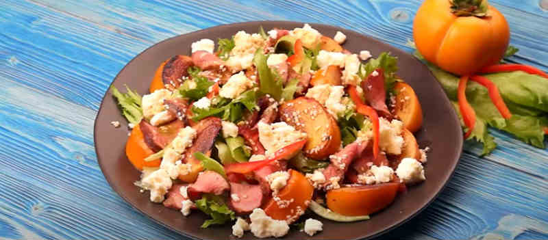 Salat s hurmoj15