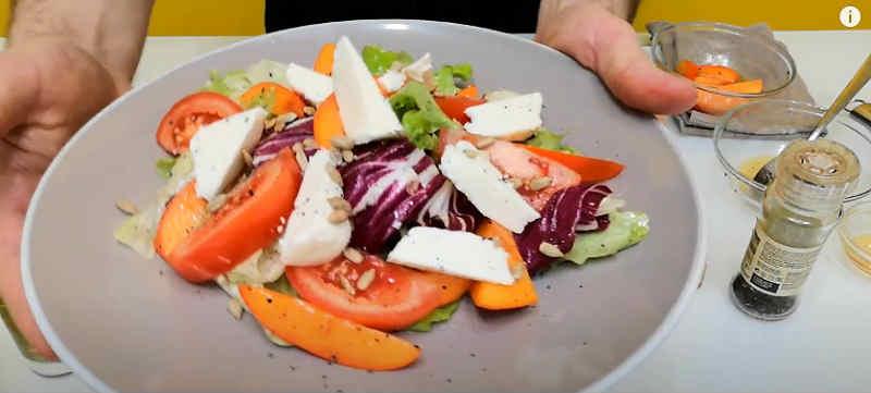 Salat s hurmoj18