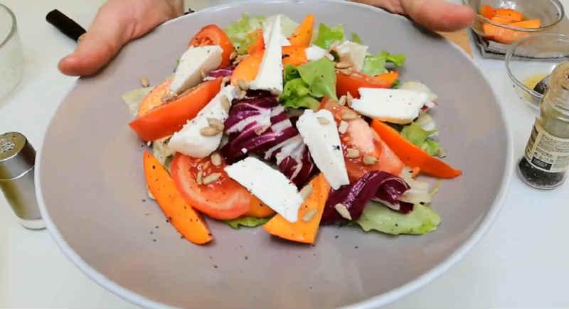 Salat s hurmoj22